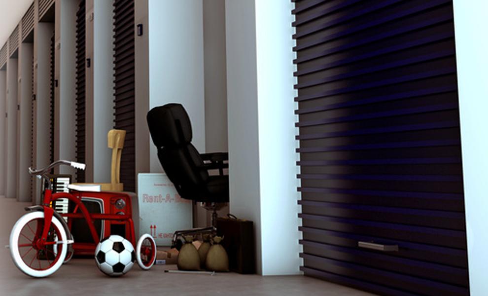 boxes avec tricylce fauteuil chaise ballon espace besoin
