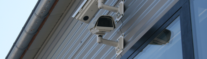 caméras vidéo surveillance façade